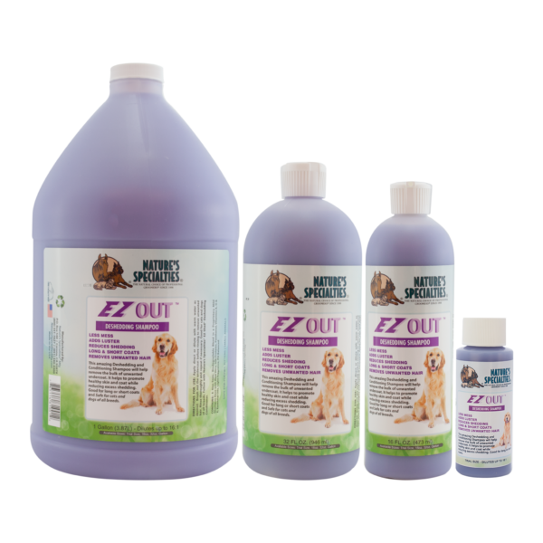 EZ Out shampoo