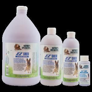 EZ shed shampoo