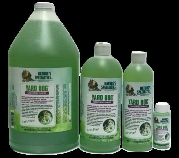 Yard Dog shampoo