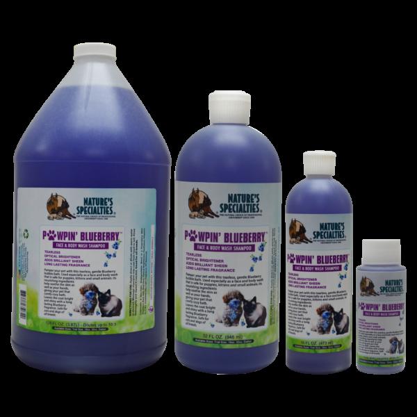 Pawpin Blueberry shampoo