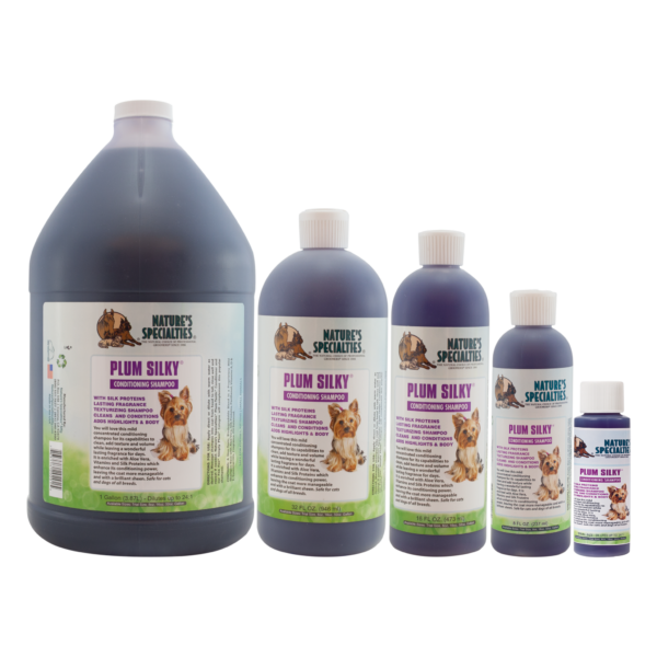 Plum Silky shampoo