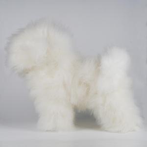 BICHON WHOLEBODY DOG WIG WHITE 1:1.2